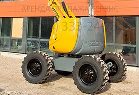 Самоходный коленчатый подъемник HA 16 PX