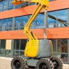 Эксплуатация дизельного коленчатого подъемника HA 16 PX Haulotte