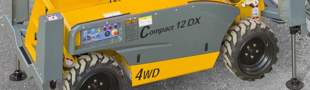 Compact 12 DX New-новый подъёмник от FORWARDUP&UP