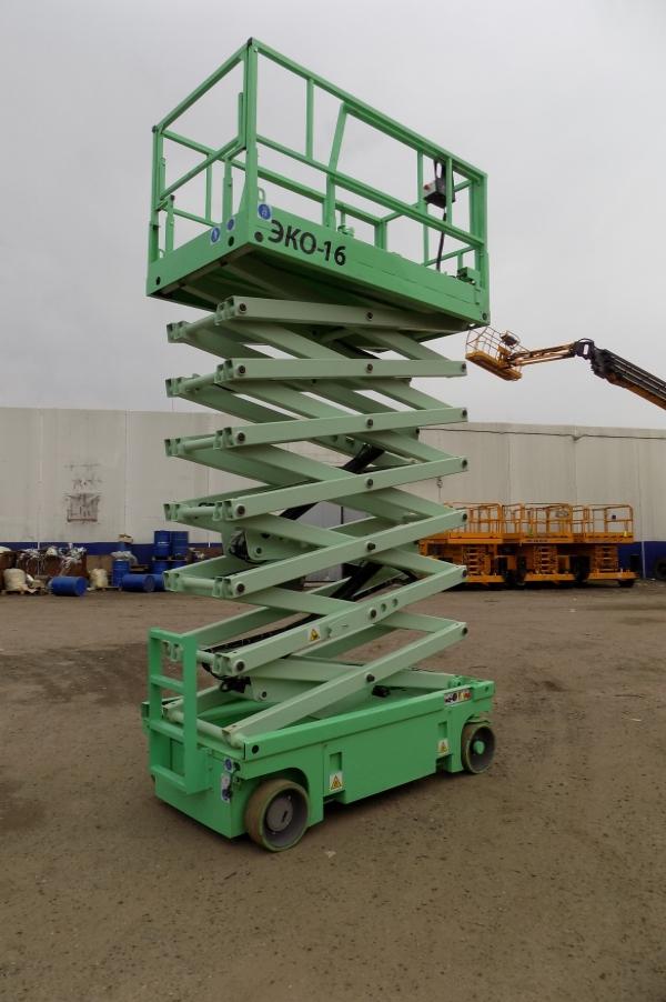 эко16, рабочая высота 16 метров, haulotte