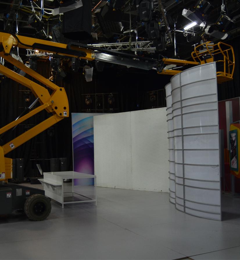 коленчатый подъемник ha15ip подготовка к выставке